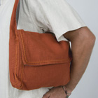 kashi : embroidered 8 pocket bag with short strap